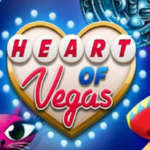 Heart of Vegas online slots machine